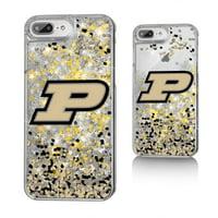 Purdue Boilermakers Confetti Glitter Case for iPhone 8 Plus / 7 Plus / 6 Plus