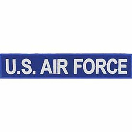 - U.S. AIR FORCE NAME TAPE STYLE Patch - Blue/White - Veteran Owned Business.