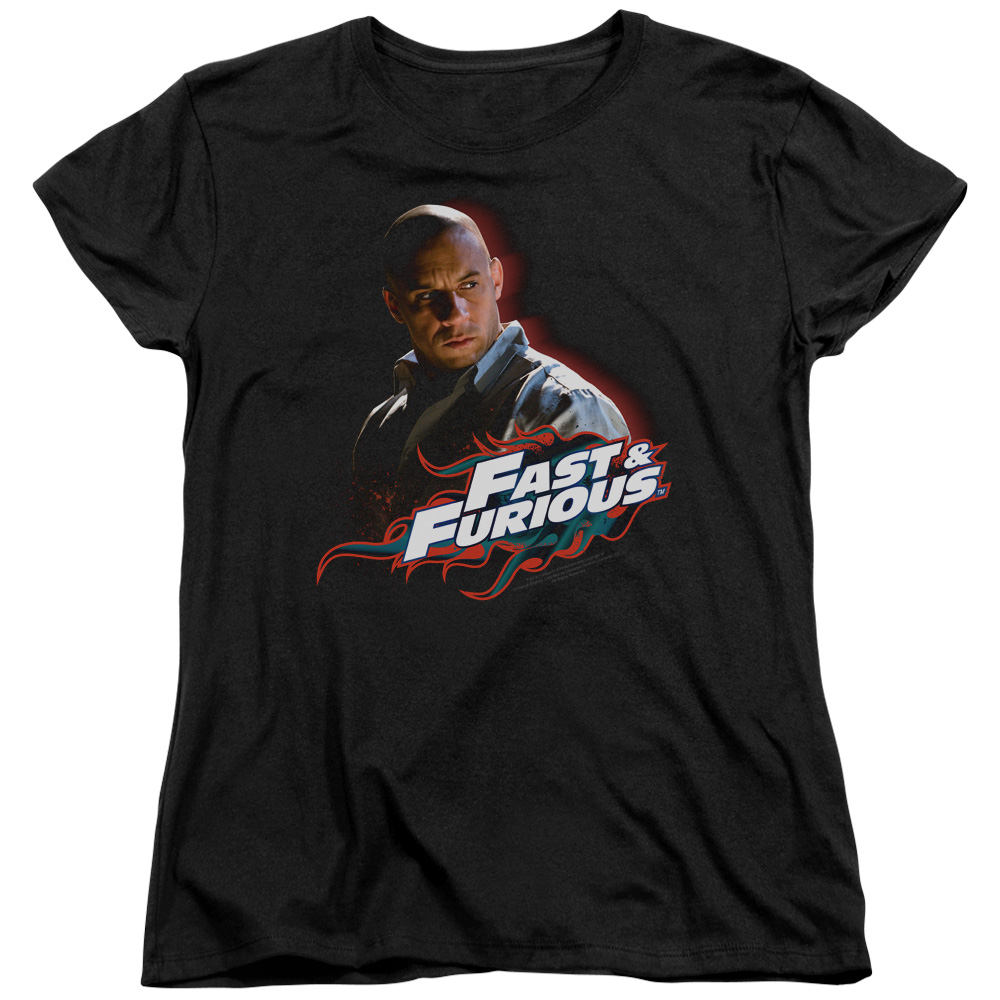 The Fast and the Furious Toretto Womens Short Sleeve Shirt