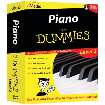 eMedia Music FD09108 Piano for Dummies Level 2 CD-ROM
