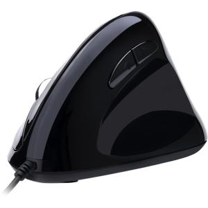 Adesso Left-Handed Vertical Ergonomic Programmable Gaming Mouse with Adjustable Weight