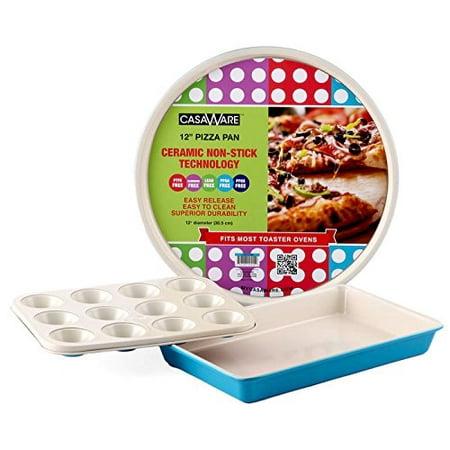 Casaware Toaster Oven 3pc Set Ceramic Coated Non-Stick