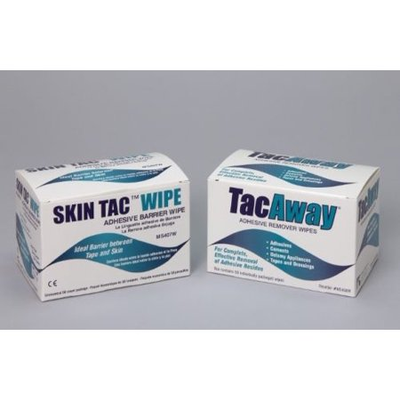 Torbot Skin Tac Adhesive Barrier and Remover Wipes Combo Pack
