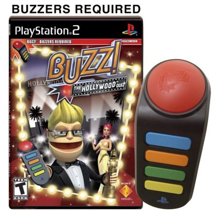 Buzz Hollywood Quiz (software only), Sony Computer Ent. of America, PlayStation 2, 711719763321 ()
