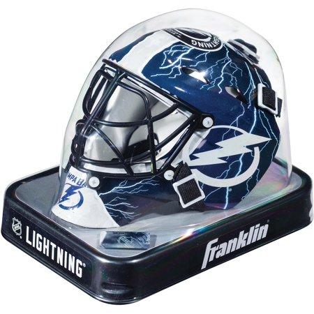 Tampa Bay Lightning Unsigned Franklin Sports Replica Mini Goalie Mask (Bane Replica Mask)