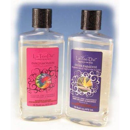 La-Tee-Da Effusion and Fragrance Lamp Oil Refills - 16 oz - APPLE (Dance Refill)