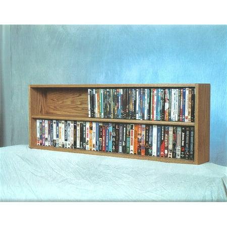 Wood Shed 200 Series 176 Dvd Multimedia Tabletop Storage Rack