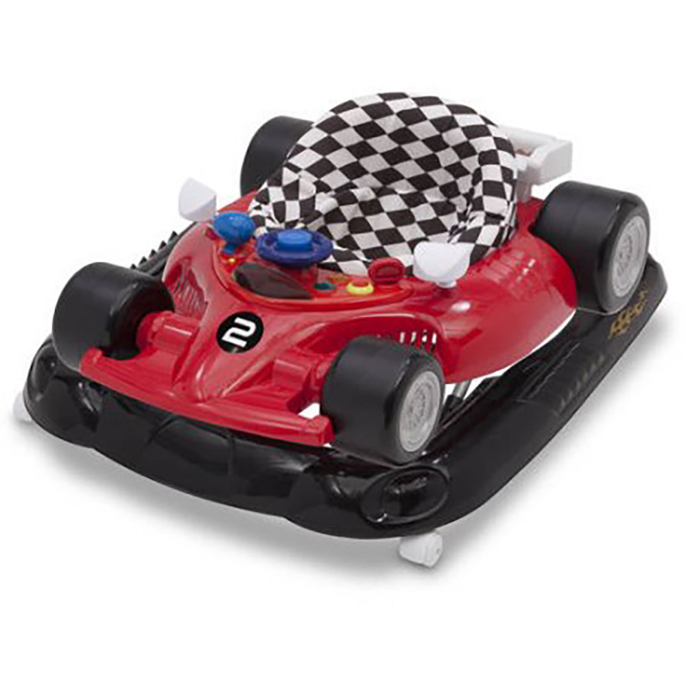 Delta Children Deluxe Lil' Drive Infant Baby Activity Center Walker, Top Speed
