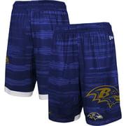 Baltimore Ravens New Era Training Daze Shorts - Purple