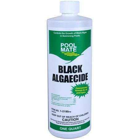 Pool Mate Black Algaecide For Swimming Pools Quart