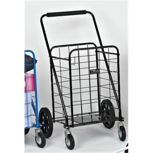 Narita Trading 117BK Sunny Super Shopping Cart  Black