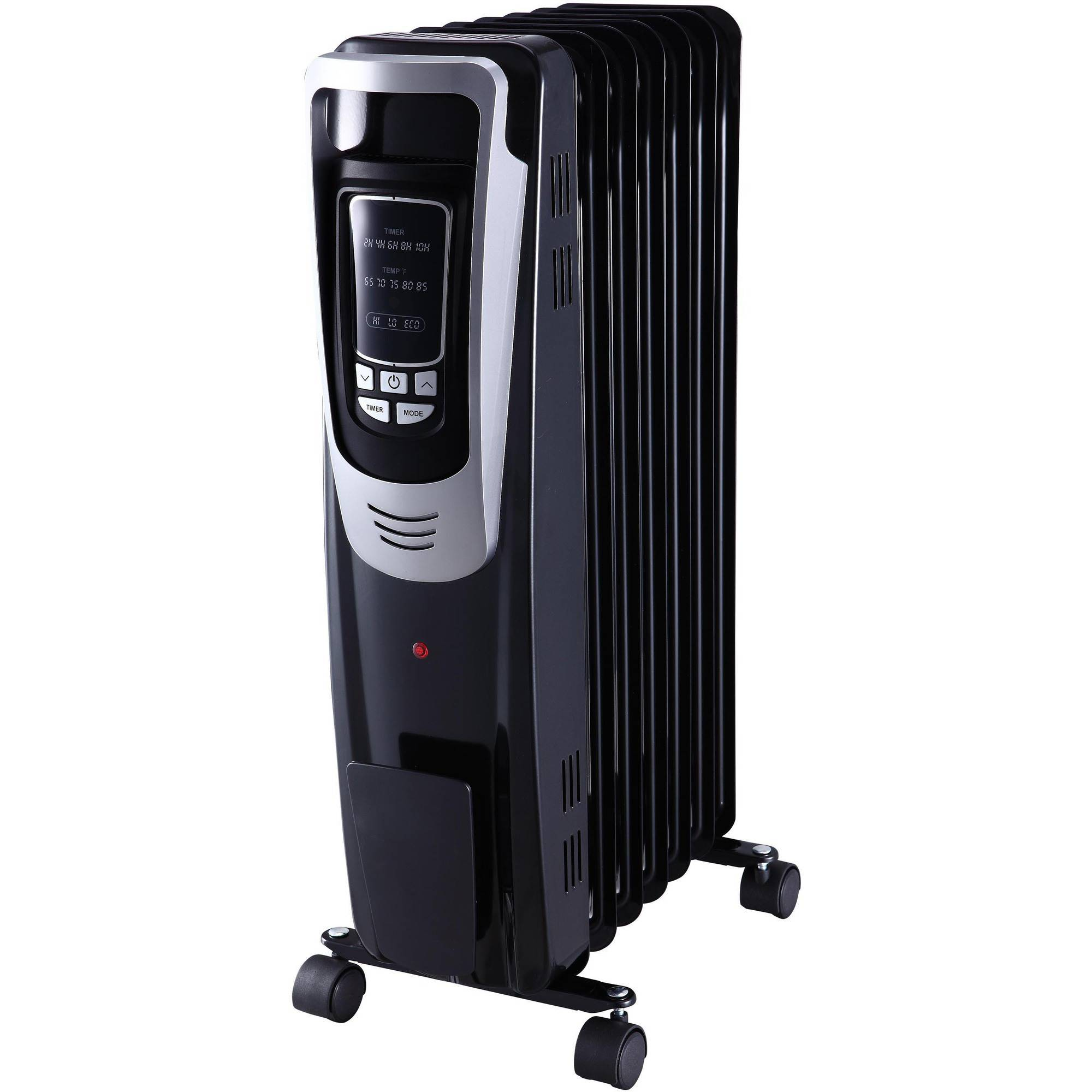 Pelonis Digital Oil Filled Heater, Black