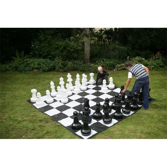 Garden Games CE610-M Giant Chess Set with Mat