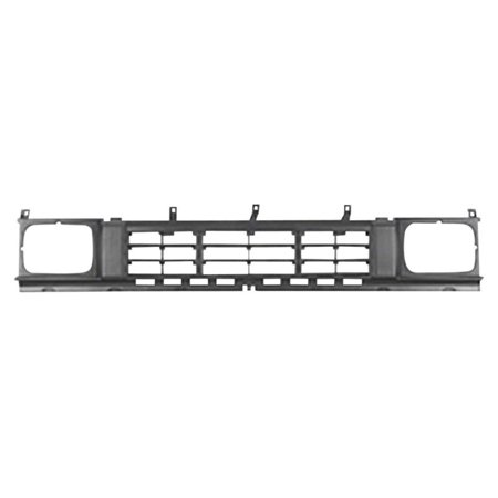 4wd Precision Grilles (NEW FRONT GRILLE FITS 1986-1987 NISSAN D21 4WD 6231031G00 )