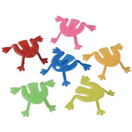 (Price/144 Pieces)US TOY 661 Mini Jumping Frogs - Mini Frogs