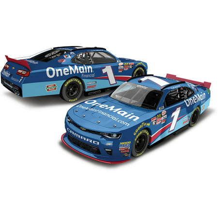 Lionel Racing Elliott Sadler  1 Onemain 2017 Chevrolet Camaro 1 24Th Arc Autographed Ho Official Diecast Of The Nascar Xfinity Series