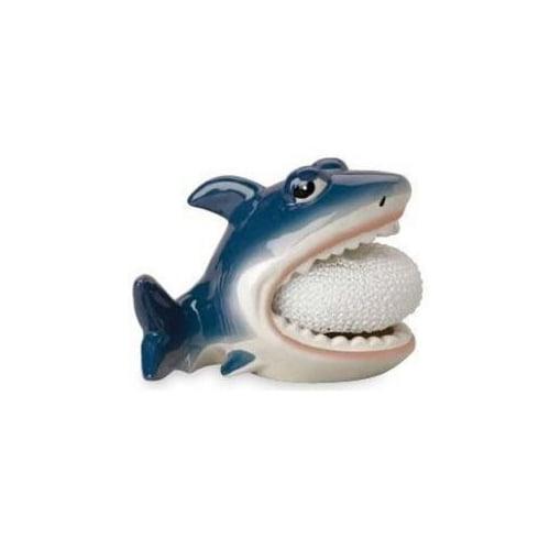 Shark Scrubby Holder by Boston Warehouse - 61641