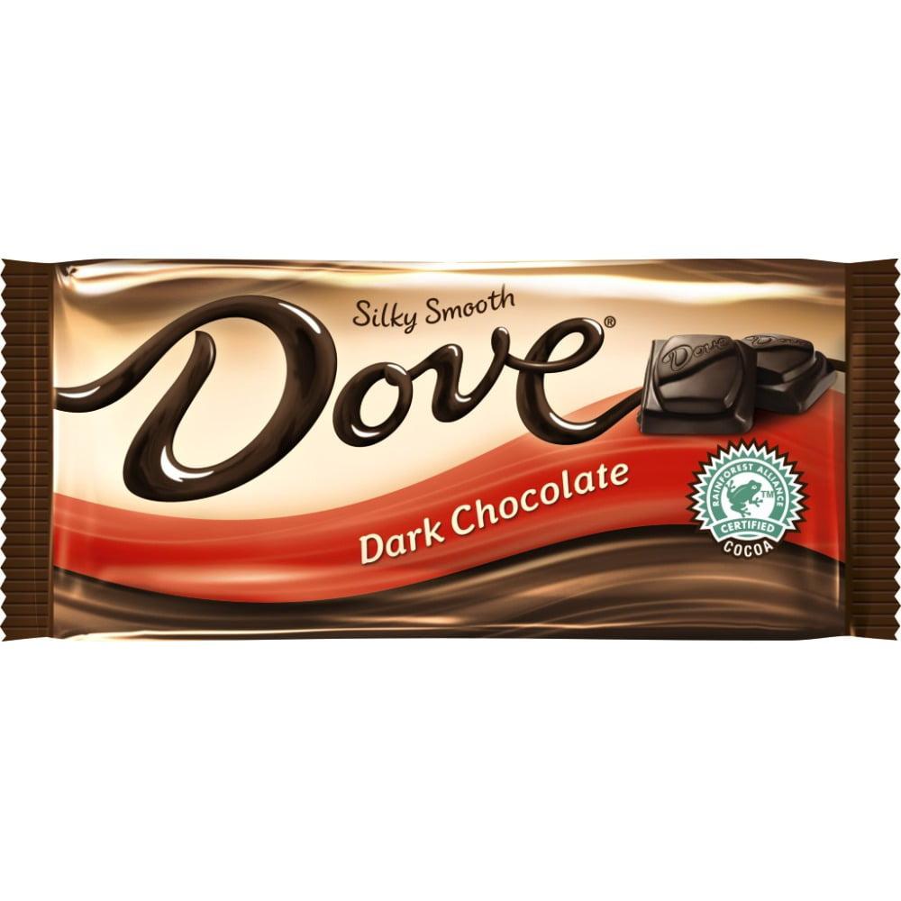 Dove, Dark Chocolate Sharing Size Candy Bar, 3.3 oz