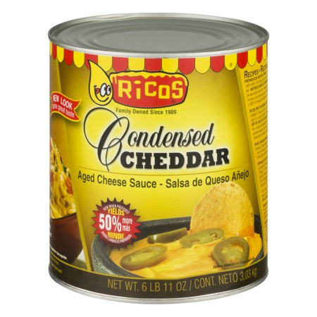 Ricos Condensed Cheddar Cheese Sauce, 107 (Sharp Cheddar Cheese Sauce)