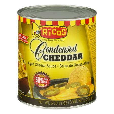Ricos Condensed Cheddar Cheese Sauce, 107 oz](Nacho Dip Halloween)