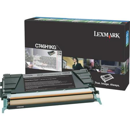 10 Kg Bag Toner (Lexmark, LEXC746H1KG, C746H1KG Toner Cartridge, 1 Each)