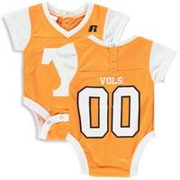 Newborn & Infant Russell Athletic Tennessee Orange Tennessee Volunteers Fashion Jersey Bodysuit