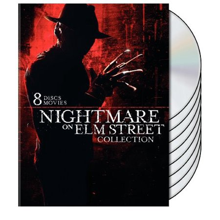 Nightmare On Elm Street Collection  8 Pack   Dvd