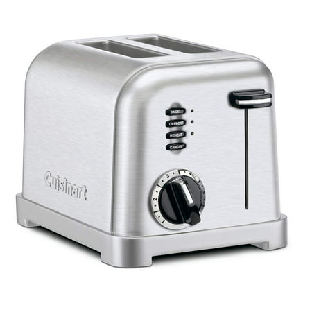 Cuisinart 2-Slice Metal Classic Toaster, Stainless (Dualit New Generation Classic 2 Slice Toaster)