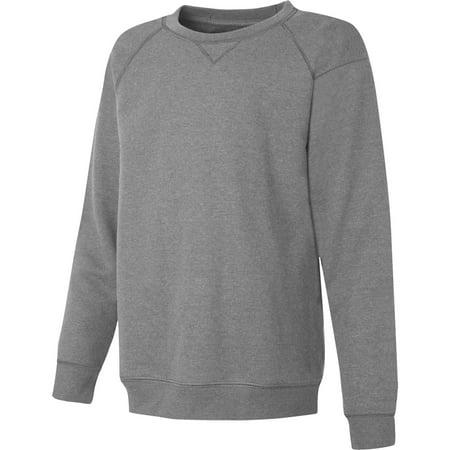 Boys Tagless Fleece V-notch Athletic Sweatshirt