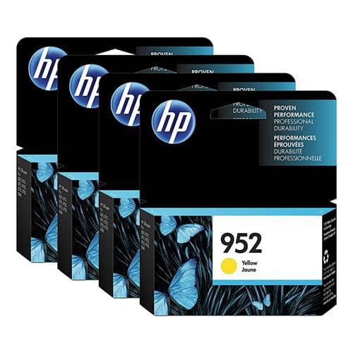 HP 952 High Yield Yellow Original Ink Cartridge (L0S55AN ...