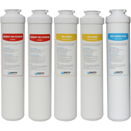 watts premier ez ro4 annual replacement filter pack