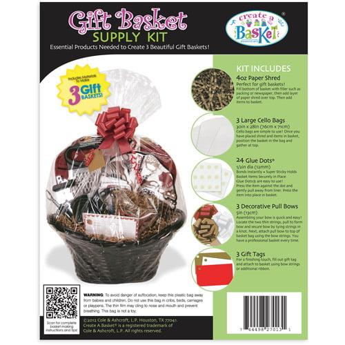 Create A Basket Esst 3pk Basket Wrap Kit - Everyday