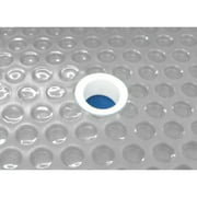 Sun2Solar Clear 12-Foot-by-20-Foot Rectangle Solar Cover | 1600 Series with 6-Pack of Grommets | Heating Blanket for in-Ground and Above-Ground Rectangular Swimming Pools