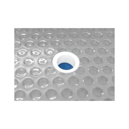 Sun2Solar Clear 30-Foot-by-60-Foot Rectangle Solar Cover  1600 Series with 6-Pack of Grommets  Heating Blanket for in-Ground and Above-Ground Rectangular Swimming Pools
