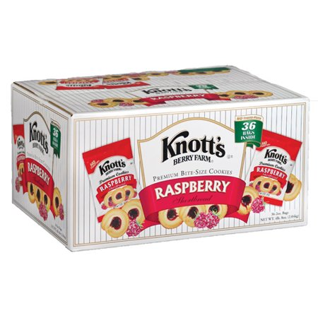 Knott's Cookies, Club Pack, Raspberry, 2 Oz, 36 (Almond Raspberry Cookies)