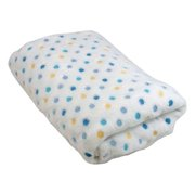 Stephan Baby Multi Dot Toddler Blanket