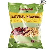 Roasted & Salted Sunflower Kernels  with Dried Cranberries, 3.25 Oz Pack of 12