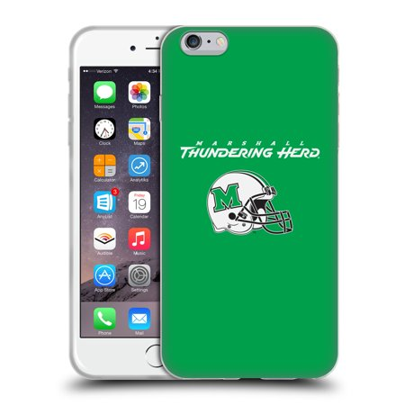 OFFICIAL MARSHALL UNIVERSITY MU MARSHALL UNIVERSITY SOFT GEL CASE FOR APPLE IPHONE PHONES