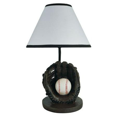 ORE Furniture Baseball 9'' Table (60w Baseball Lamp)