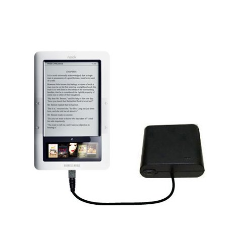 Portable Emergency Aa Battery Charger Extender Suitable For The Barnes And Noble Nook 3G Wi Fi