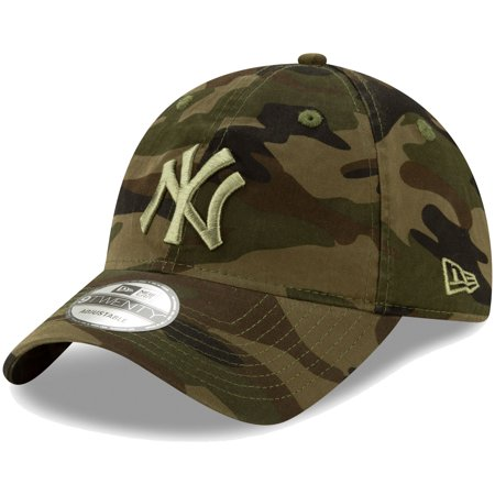 New York Yankees New Era Tonal Camo Core Classic 9TWENTY Adjustable Hat - Camo - OSFA