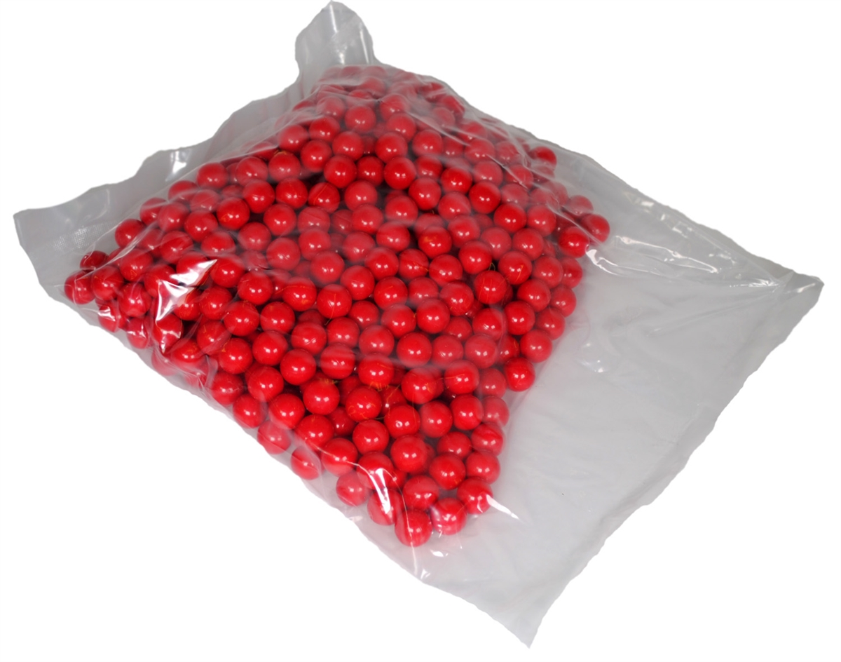Shop4Paintball BLOOD BALL .68 Caliber Paintballs Red Red Bag of 1000 by Shop4Paintball
