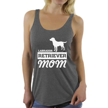 Awkward Styles Women's Labrador Retriever Mom Graphic Racerback Tank Tops Dog - Dog Tank Top