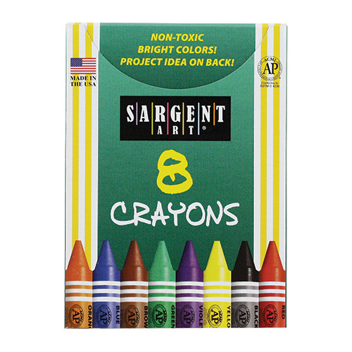 Sargent Art Inc Sargent Art Crayons 8 Count Tuck Bx (Set of 10)