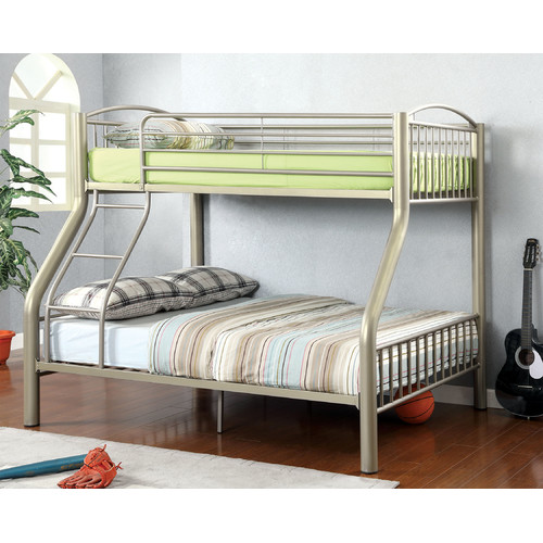 Hokku Designs Kostemia Twin over Full Bunk Bed by Enitial Lab