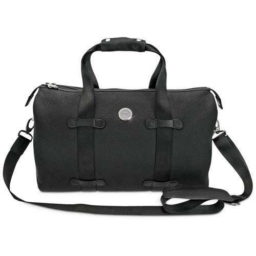 Georgia Southern Gym/Overnight Leather Bag
