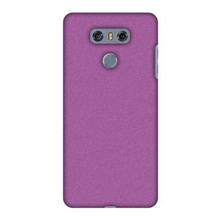 LG G6 Case, LG G6 Plus Case - Carbon Fibre Redux Electric Violet 5,Hard Plastic Back Cover, Slim Profile Cute Printed Designer Snap on Case with Screen Cleaning Kit