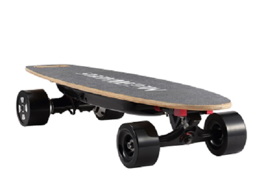 Megawheels GS01 Gravity Electric Skateboard Electric Scooter off road riding 4 wheels board by Astar Technology