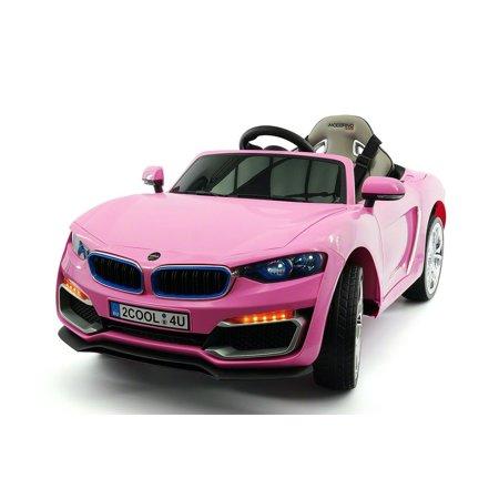 Moderno Kids Luxury Sedan 12 Volt Battery Powered W  Parent Remote Control  Leather Seat  Led Lights
