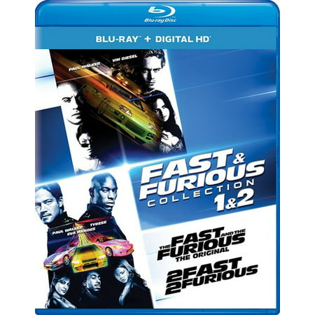Fast & Furious Collection: 1 & 2 (Blu-ray + Digital